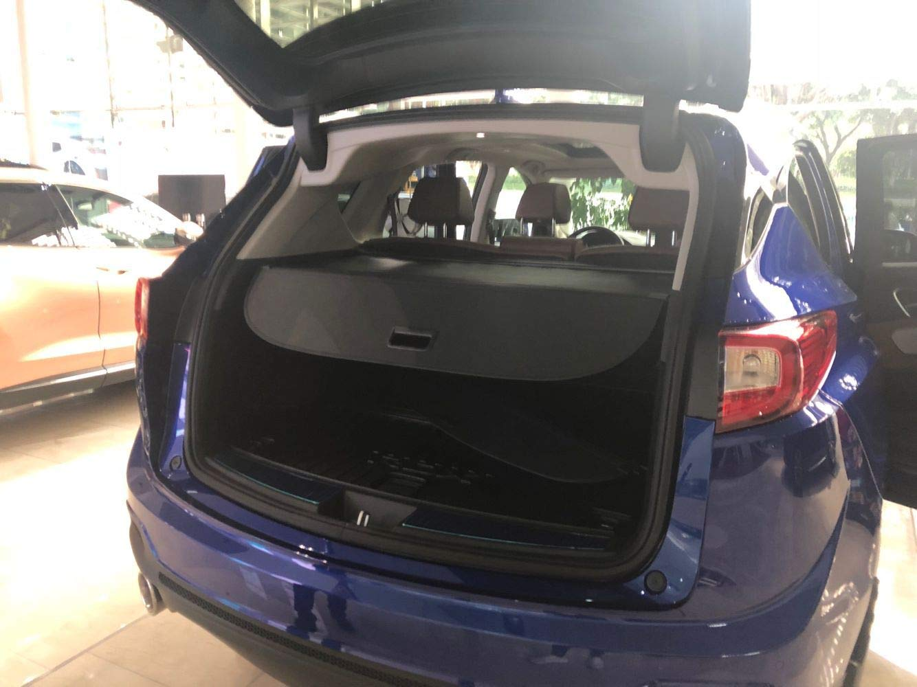 Kaungka Cargo Cover Compatible for 2019 Acura RDX RDX Black Trunk Shielding Shade (Updated Version:There is no Gap Between The Back Seats and The Trunk Cover)