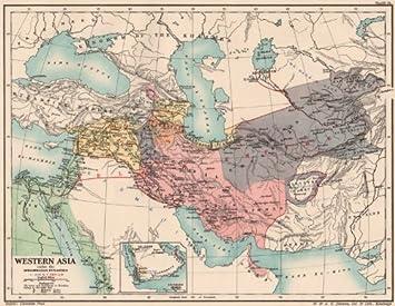 Amazon.com: WESTERN ASIA 970-1070 AD. under the Mohammadan Muslim ...