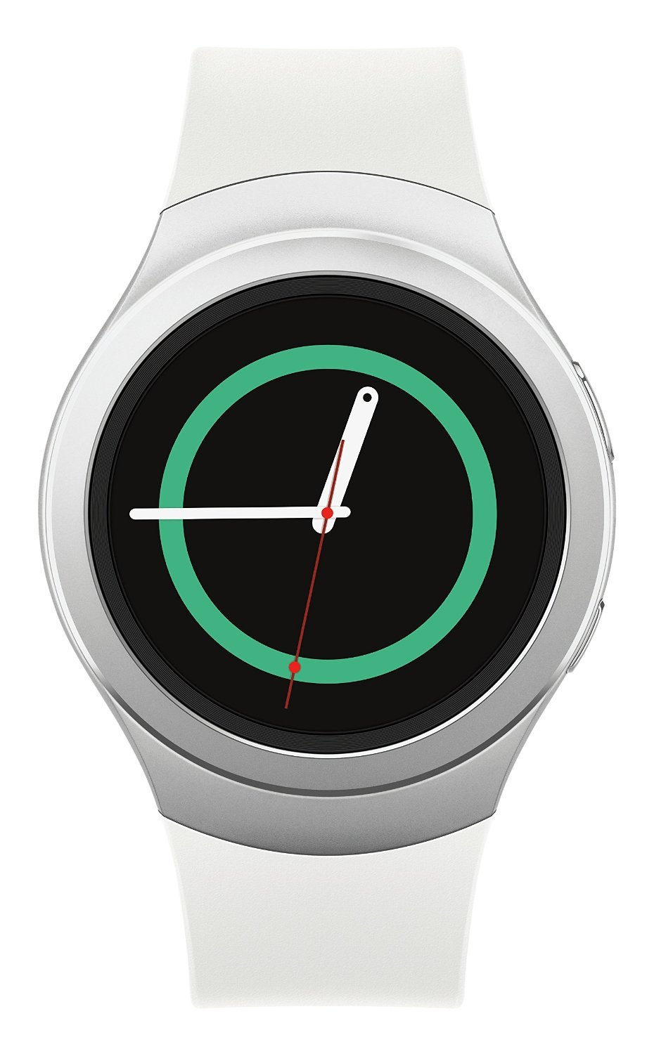 Samsung Gear S2 R730A (AT&T + Wi-Fi) Dust and Water Resistant Smartwatch - Silver (Renewed)