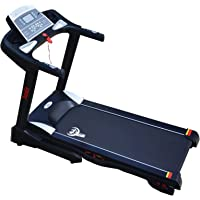 Durafit - Sturdy, Stable and Strong Springo 1.75 HP Continuous DC Motor Treadmill