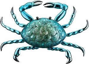 Regal Art & Gift 12372 Mystic Decor-Crab Wall Décor, Blue/Green