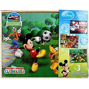 Disney 3-pack Puzzle [Cars, Toy Story, Mickey]