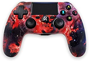 PS4 Game Controller,Bluetooth Wireless Gamepad for Sony Playstation 4 Pro/PS3/PC Game Remote Joystick