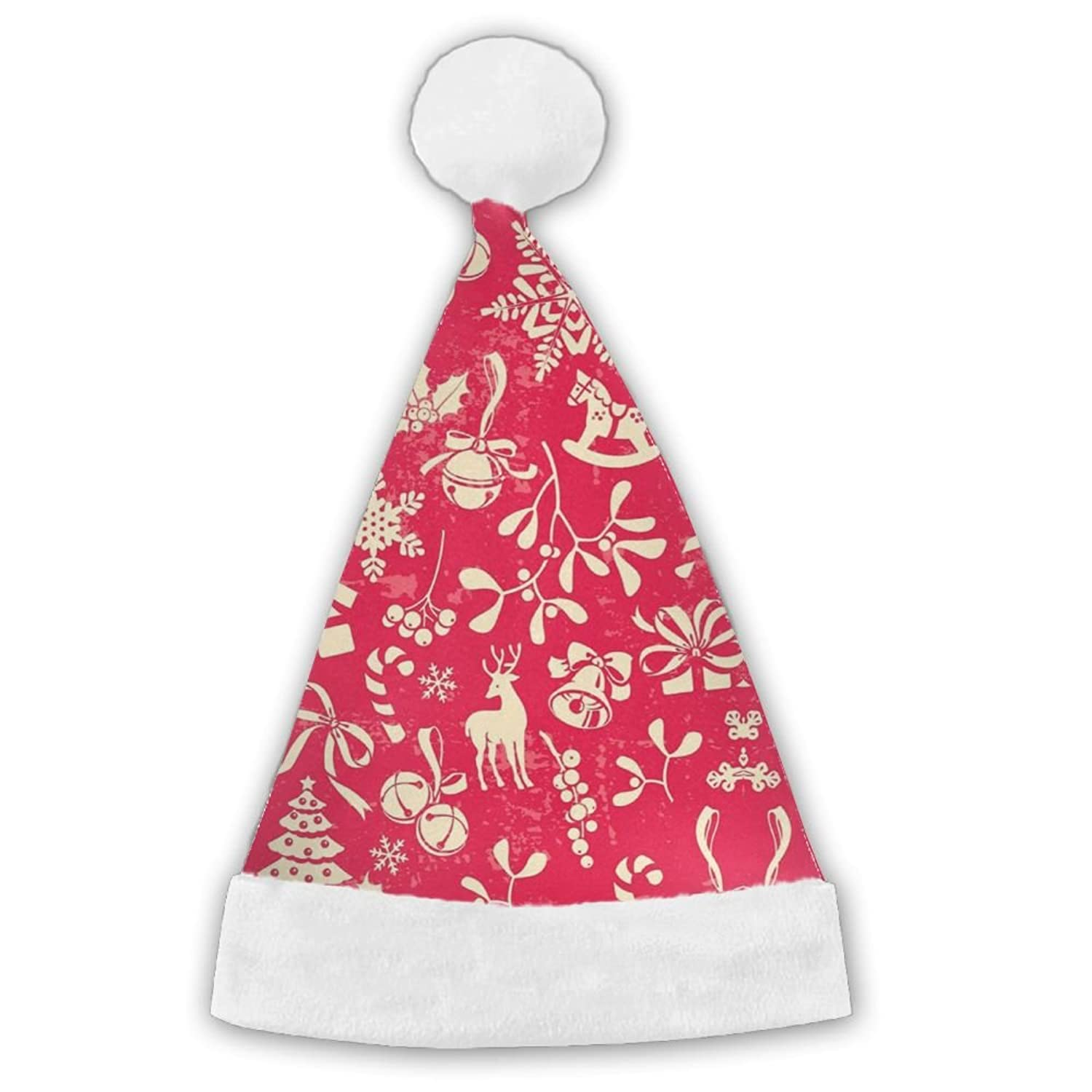 hot sell HOT Santa Hat Merry Christmas Holiday Theme Hats Personalized Stylish Xmas Christmas Elf Hat get discount