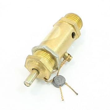 1,3 cm rosca de seguridad válvula de alivio de presión para compresores de aire: Amazon.es: Bricolaje y herramientas