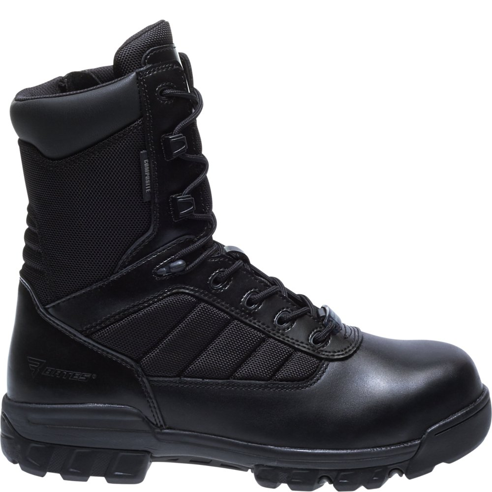 Bates Men's 8 Inches Tactical Sport Comp Toe Work Boot,Black,8 EW US by Bates