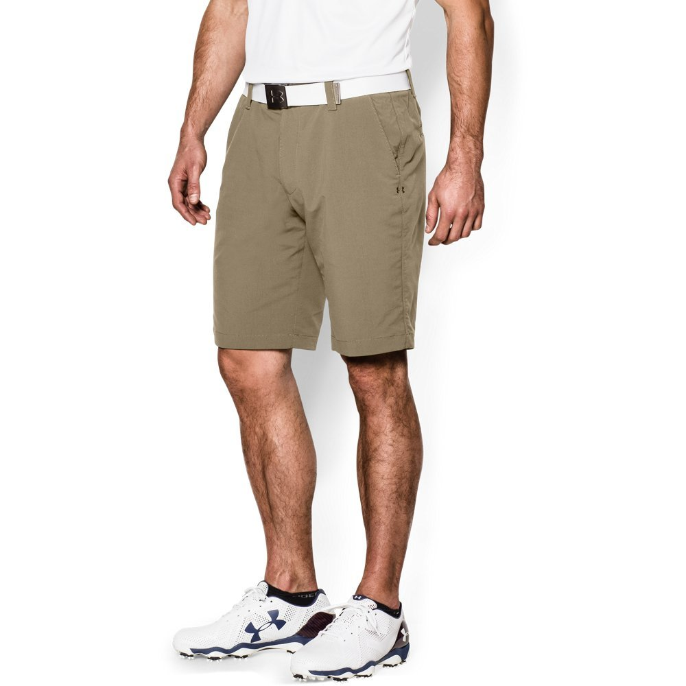 Under Armour Men's Match Play Shorts, Canvas (254)/Canvas, 34 by Under Armour