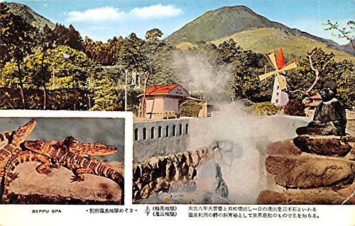 Beppu Japan (Beppu Spa Japan Postcard)