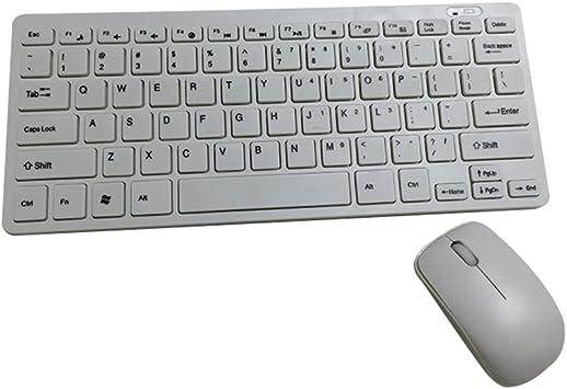 bben 10 cm funciona con pilas inalámbrico teclado y juego de ...
