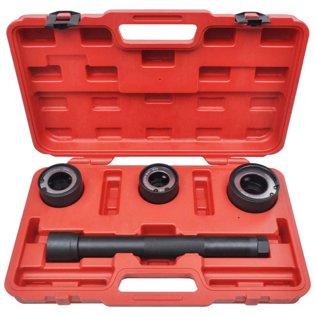 Conjunto de herramientas para desmontar brazo de direccion axial 4 piezas 35-40 mm extractor 40-45mm. y 30-35 mm