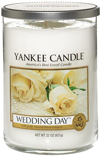 yankee candle large 2 wick tumbler candle wedding day