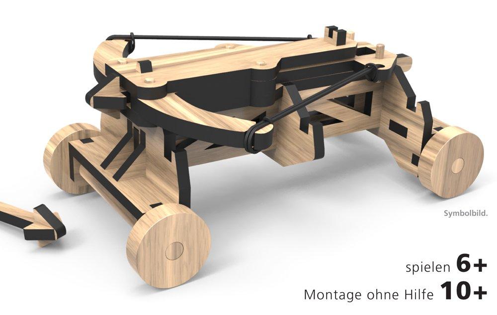 WoodHeroes Balliste Bausatz - Bausätze für Kinder