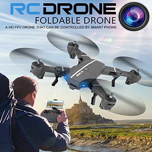 REFURBISHHOUSE 8807W 2,4 Ghz 120 720 P 120 Ghz Grad Weitwinkel Kamera WiFi FPV Faltbare Drone 6-Achsen-Gyro Hoehe Halten Headless Modus G-Sensor RC Quadcopter a1a167
