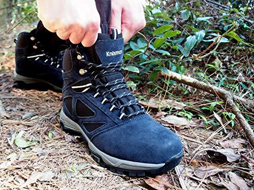 Homme slip Trekking Bleu Non De Extérieure Chaussures Knixmax Imperméable Marche Femme femme Semelle Randonnée 5nqpqfw