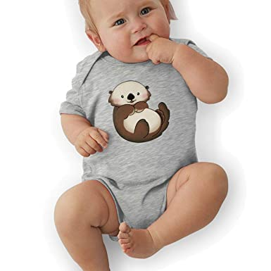 BONLOR Allegedly Ostrich Baby Boys Girls Jumpsuits Short Sleeve Romper Bodysuit Bodysuit Jumpsuit Outfits White