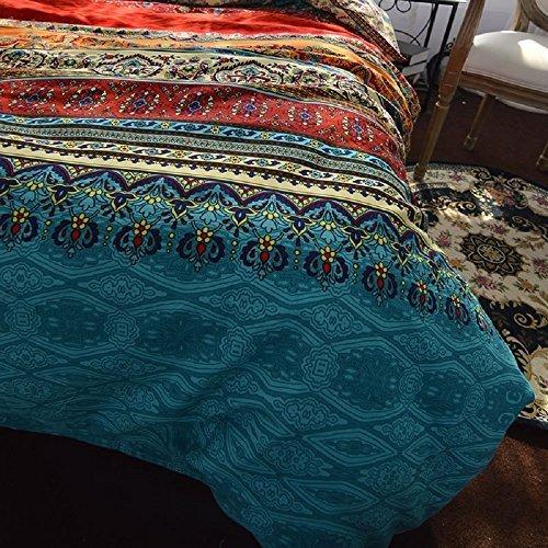 YOUSA Bohemia Retro Printing Bedding Duvet Cover Sets