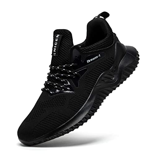 5648c99f871e3 BINSHUN Running Shoes Men Sneakers Lightweight Fly Knitted Breathable Sports  Gym Walking Athletic Training Shoe(