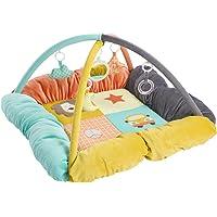 Baby Fehn 66197 3 Boyutlu Bebek Oyun Yuvası Funky, Çok Renkli