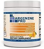 L-arginine Pro, L-arginine Supplement - 5,500mg of L-arginine Plus 1,100mg L-Citrulline (Citrus Orange, 1 Jar)