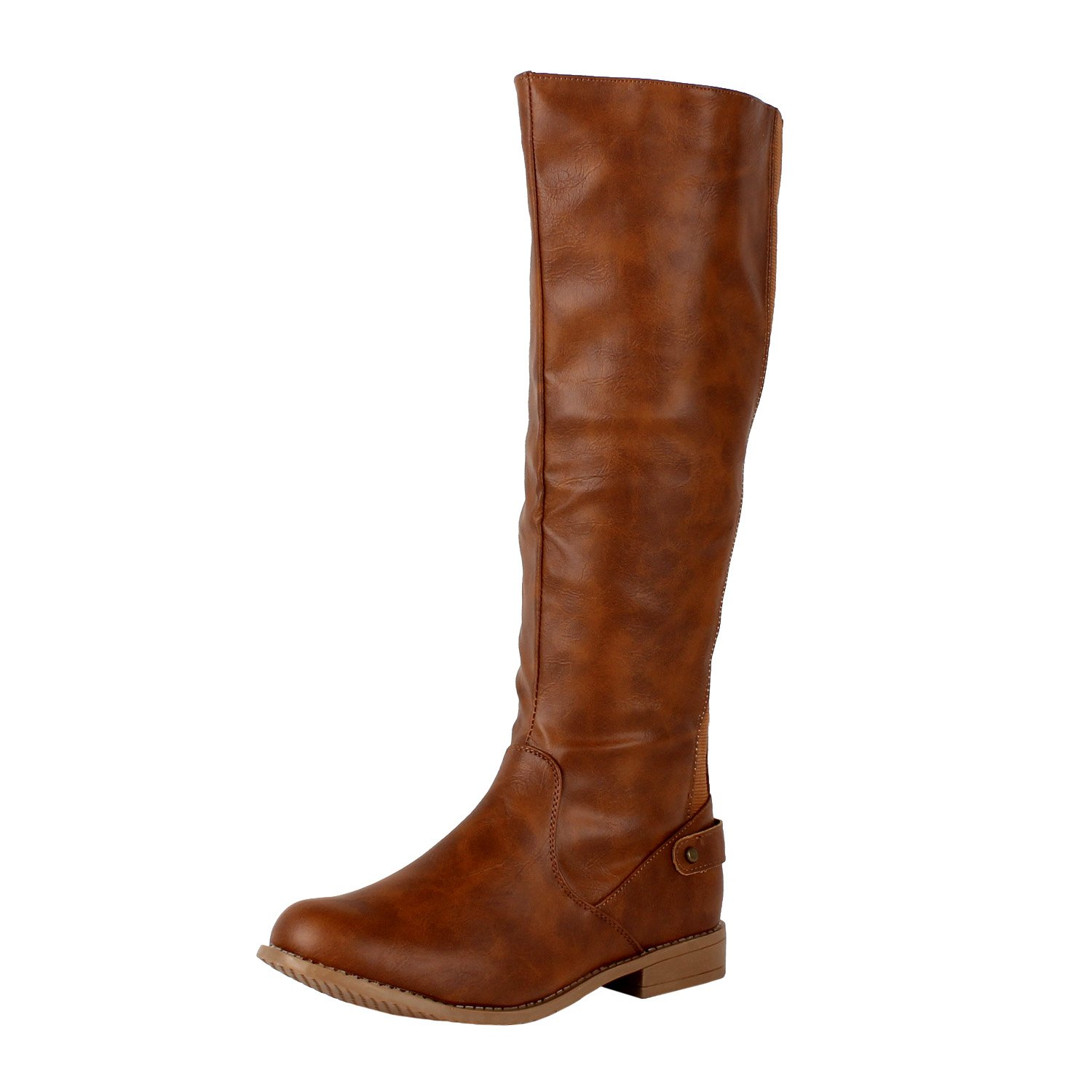 Amazon.com | West Blvd Santiago Stretch Knee High Boots | Ankle ...