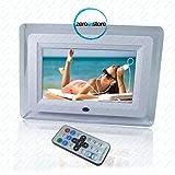 CORNICE DIGITALE 7 POLLICI RETRO ILLUMINATA TELECOMANDO USB FOTO VIDEO SD MP3