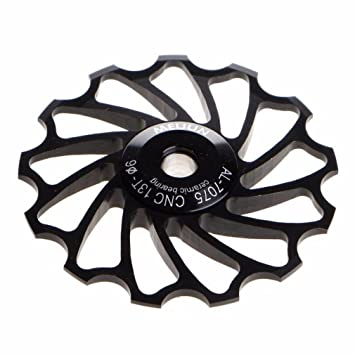 13T Alloy Ceramic Bearing Jockey Wheel Pulley Road Bike Bicycle Rear Derailleur