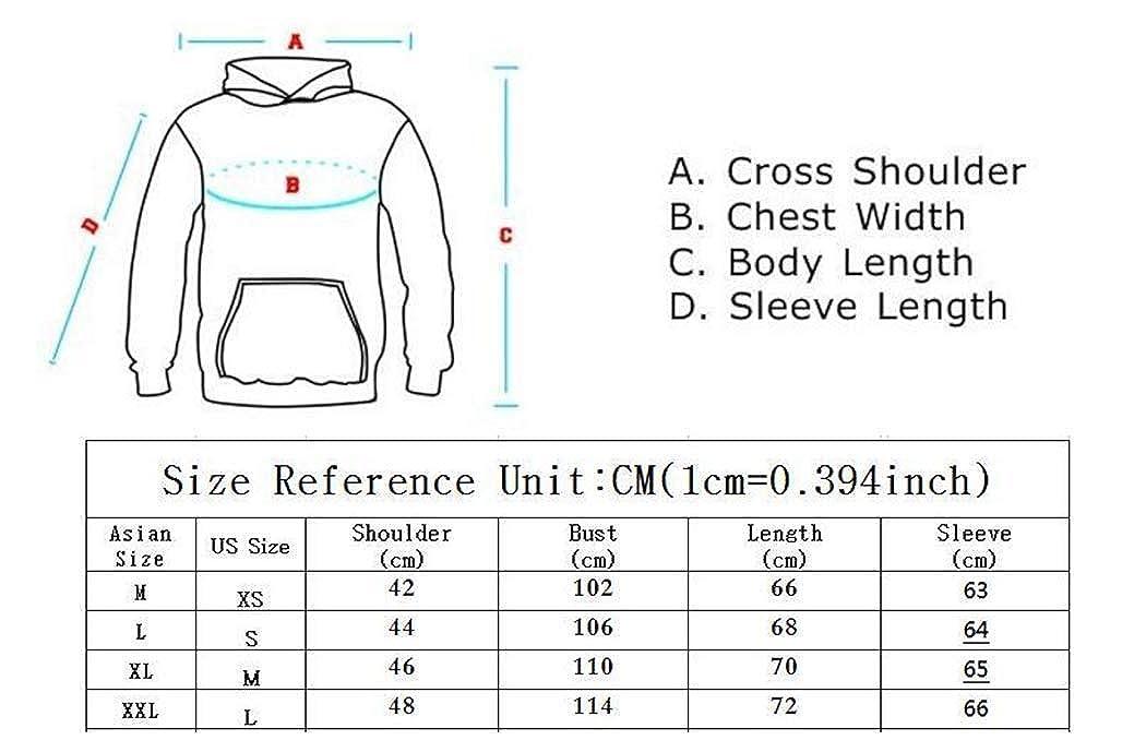 TinaFan Hoodies Sweatshirts Hoodies Jacket Harajuku XL Red White