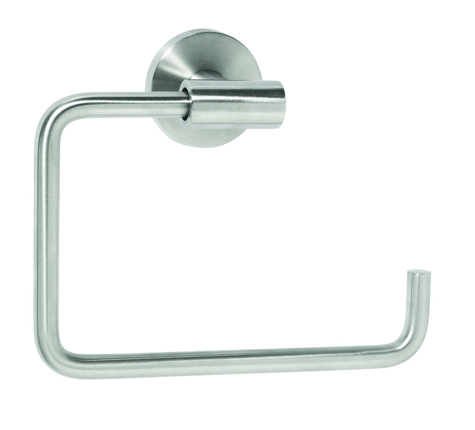 Amerock BH26541-SS Arrondi Collection Towel Ring, Stainless Steel