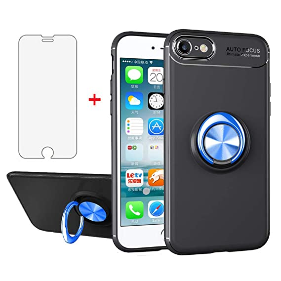 detailed look 350df 26c35 Amazon.com: iPhone 6/6s i Phone Case with Tempered Glass Screen ...