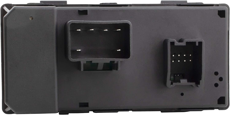 Replaces 20945129 25789692 BOXI Driver Side Master Power Window Switch for Buick Enclave Chevy Silverado 1500 2500HD 3500HD GMC Sierra 1500 2500HD 3500HD Chevrolet Traverse HHR GMC Yukon