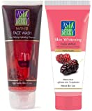 Astaberry wine face wash 100ml + Skin whitening face wash 100ml