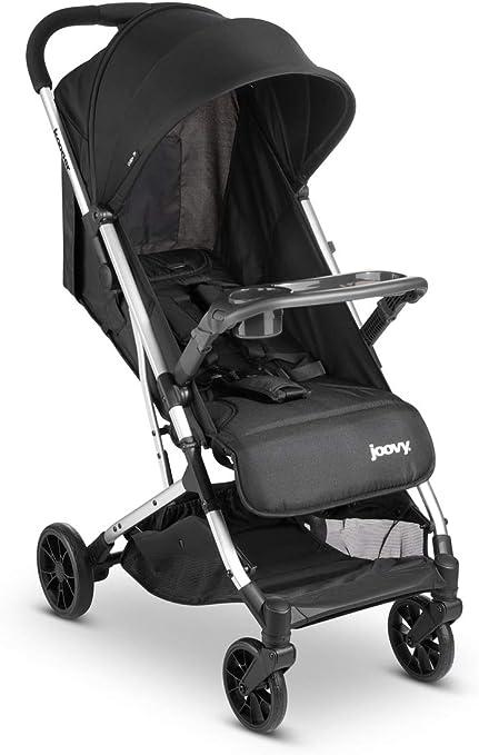 Opinión sobre Joovy Kooper Cochecito ligero, plegable compacto con bandeja, negro