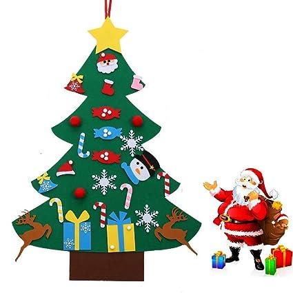 Amazoncom Yzhi Felt Christmas Tree For Kids Toddlers 27pcs Felt