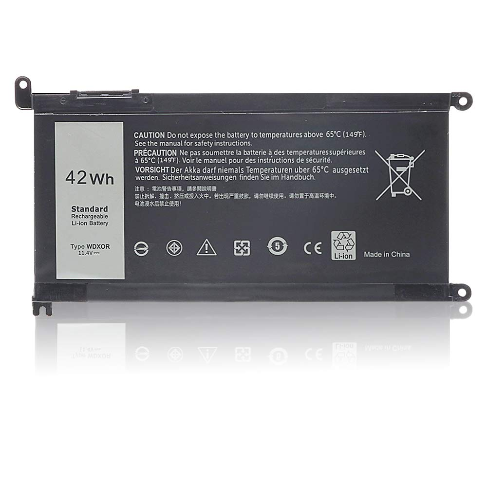 New WDX0R Laptop Battery for dell Inspiron 15 5565 5567 5568 5578 7560 7570 7579 7569 13 5368 5378 7368 7378 17 5765 5767 5770 Series Notebook Battery Fits 3CRH3 T2JX4 FC92N CYMGM -12 Months Warranty