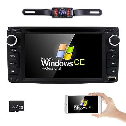 amazon com hizpo universal car dvd player for toyota camry corolla rh amazon com Toyota GPS Navigation Toyota GPS Navigation