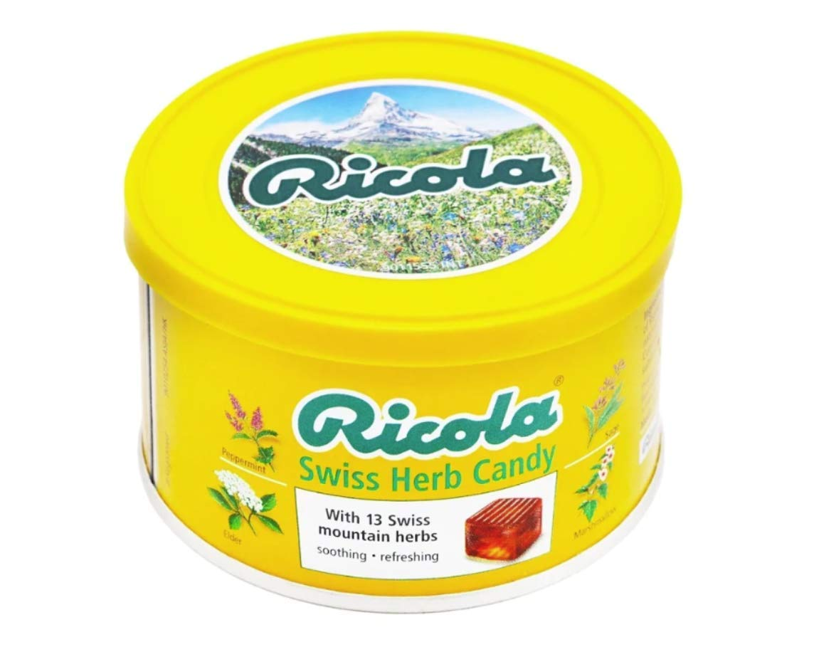 Ricola original Swiss Herb Candy 100g x 6 Packs by Hong Kong Version