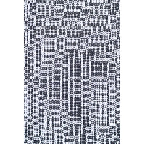 nuLOOM Cottage Collection Hand Made Area Rug, 5-Feet by 8-Feet, Navy