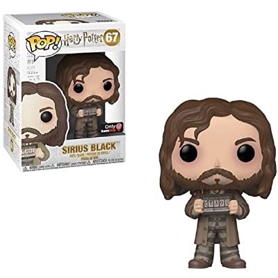 Funko POP Movies: Harry Potter Action Figure - Sirius Black 67: Toys & Games