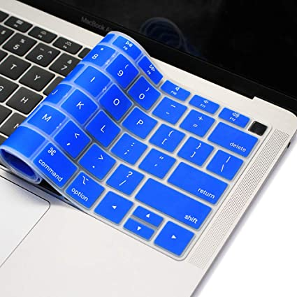 sale retailer fed04 6ea31 imComor Silicone Keyboard Cover for MacBook Air 13 Inch A1932 2018 Keyboard  Cover for New Apple MacBook Air 13 Inch with Retina Display 2018 Release ...
