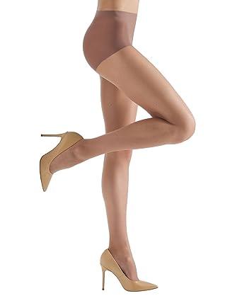 6d4dbad7cf79c Melas Bare Control Top Pantyhose - 8 Denier - 6 Pack Honey K06 AS 614 Q1