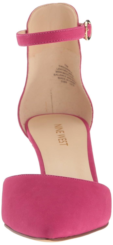 Nine West B01MXEFA50 Women's Sharmila Leather Dress Pump B01MXEFA50 West 5.5 B(M) US|Pink df9c9d