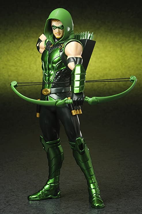 DC Comics New 52 Versión Verde Flecha ARTFX Estatua: Amazon ...