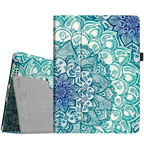Fintie iPad 2/3/4 Case - Slim Fit Folio Stand Case Smart Protective Cover Auto Sleep/Wake Feature for Apple iPad 2, iPad 3 & iPad 4th Generation with Retina Display - Emerald Illusions