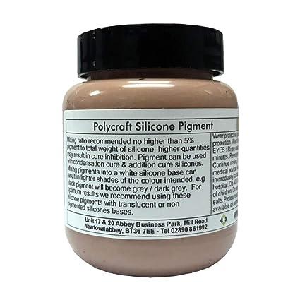 Polycraft silicona líquida RTV para moldes pigmento color carne – 100 G