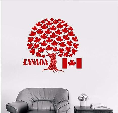 BRILLINT.YY wandtattoo Schlafzimmer Kanada Maple Tree Symbol ...