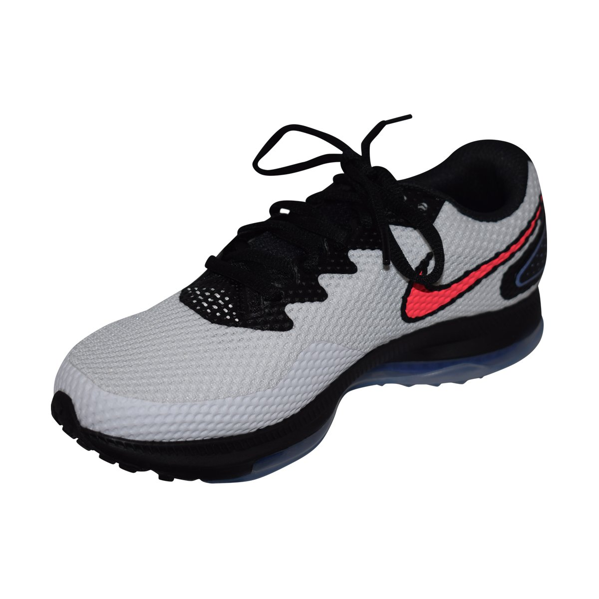 NIKE Women's Zoom All Out Low 2 (7, White/Solar Red-Black)