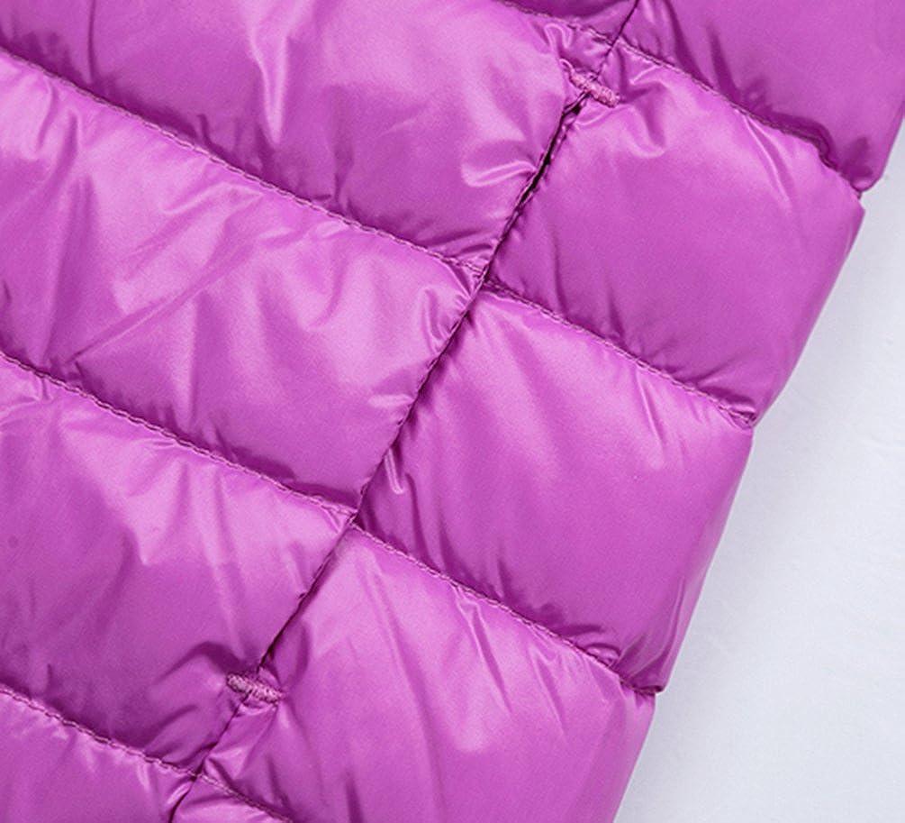 Jitong Bambini Cappotto con Cappuccio Ragazzi Caldo Manica Lunga Giacche Piumino Packable Invernali Hoodies