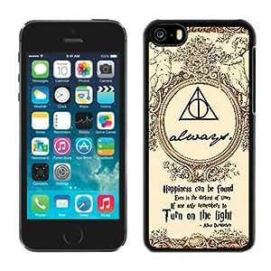Hot Sale iPhone 5C Case ,Harry Potter Black iPhone 5C Cover Unique And Popular Designed Phone Case