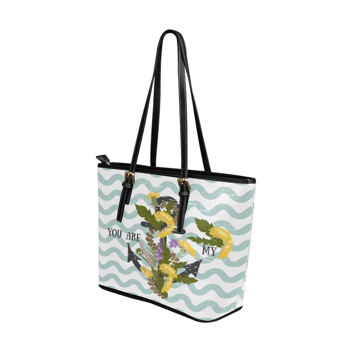InterestPrint Tote Bags Zippered Tote for Women Overnight HandBags