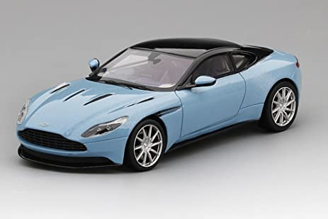 Aston Martin DB11 In Frosted Glass Blue Model Car In 1:43 Scale By Truescale